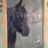 Houtenpaneel – paard