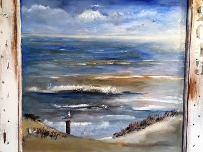 Houtenpaneel – strand