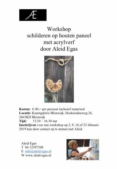 Workshop Kunstgalerie Bleiswijk