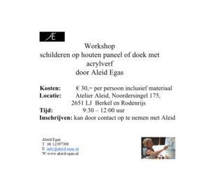 Workshop € 30