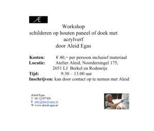 Workshop € 40