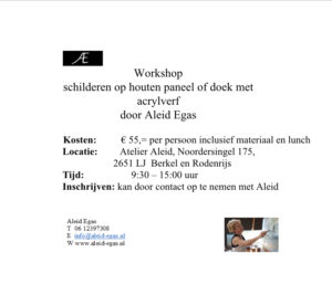Workshop € 55