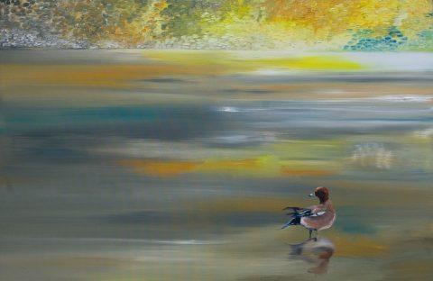 Olieverf op doek, 120 x 80 cm