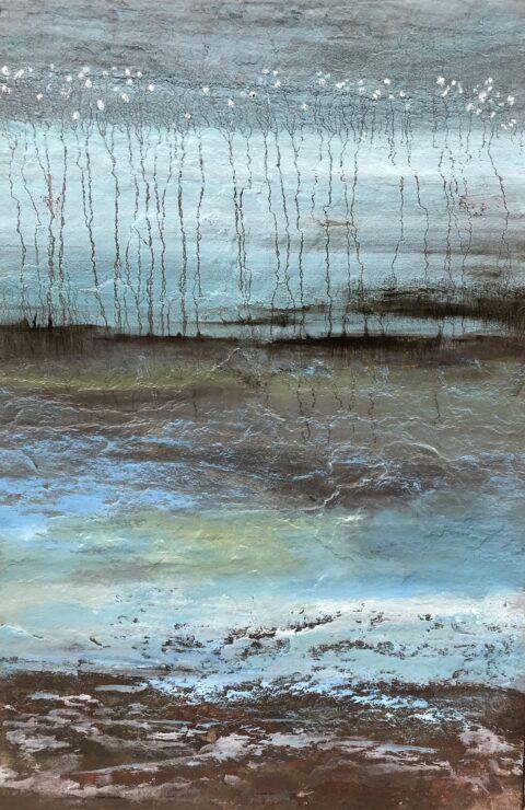 Olieverf op paneel. 40×60 cm